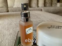 Jungle Gardenia Tuvache Gift Set Spray Concentrate 3 oz Perfumed Dusting Powder