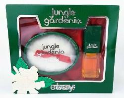 Jungle Gardenia Tuvache Gift Set Spray Concentrate & Perfumed Dusting Powder NOS