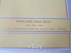 L'AIR DU TEMPS Nina Ricci Perfumed Dusting Talc Body Bath Powder 6 oz SEALED Box