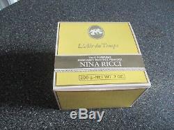 L'air Du Temps By Nina Ricci PERFUMED DUSTING BODY POWDER 7 oz SEALED TUB, NIB