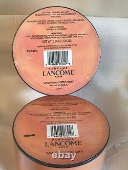 LANCOME Paris Perfumed Body Dusting Powder 3.25 Oz New, Factory Sealed