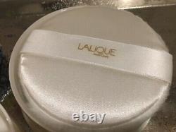 Lalique Poudre Perfumed Fragrance Dusting Body Powder 5oz 150g Sealed