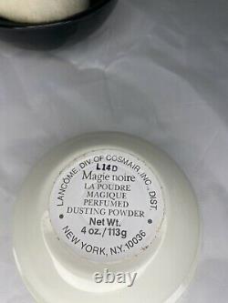 Lancome Magie Noire Perfumed Dusting Powder 4 oz Vintage NEW