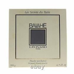Leonard'Balahe' Perfumed Dusting Powder 6.7oz/200g New In Box