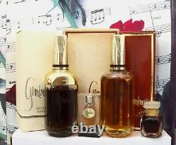 Max Factor Geminesse Perfume, Cologne, Bath Oil Or Dusting Powder. Choose
