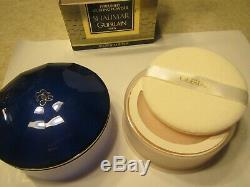 NEW GUERLAIN SHALIMAR PERFUMED DUSTING POWDER 4.4ozSEALED CONTAINER DISCONTINUED