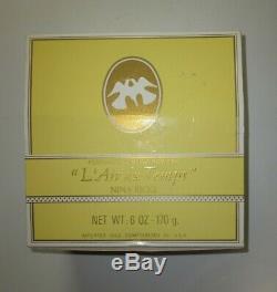 NINA RICCI NEW L'Air du Temps Perfumed Dusting Powder, 6 Oz. SEALED Paris/NY