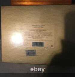 New Estee Lauder Cinnabar Gift Set 1.7 Oz EDP Perfume 3oz Dusting Powder Vintage