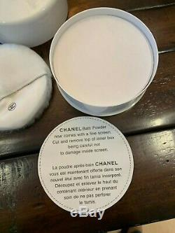 New Sealed Vintage Chanel No 5 Bath / Body / Dusting Powder Large 225 g