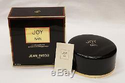 New Unused Vintage Jean Patou Joy de Bain Perfumed Dusting Body Powder 5.3 oz