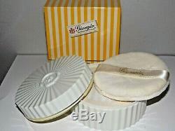 New Vintage Original Giorgio B. Hills Perfumed Bath Body Dusting Powder. 6 Oz