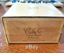 New Vintage Rare Hermes CALECHE Dusting Body Powder 7.25oz Fragrance Talc Parfum