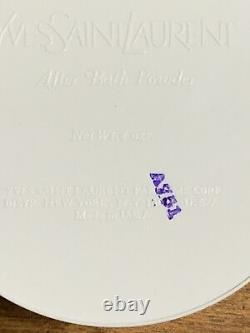 New Yves Saint Laurent Ysl Y After Bath Perfumed Dusting Powder. 4 Oz Sealed