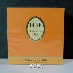 NewithSealed Vintage Christian Dior DUNE Perfumed Dusting Powder 5.3 oz