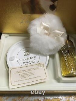 Nina Ricci L'Air Du Temps Perfumed Dusting Powder 6.0 Oz. & 1.6 Oz De Toilette