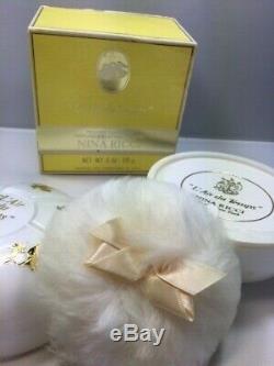 Nina Ricci L'Air du Temps perfumed dusting powder 170g. Rare, vintage. Sealed