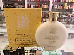 Nina Ricci L'air Du Temps Perfumed Dusting Powder Spray 3.5 Oz