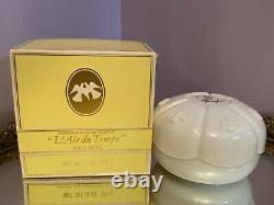 Nina Ricci LAir du Temps Perfumed Dusting Powder 6 oz NIB vintage sealed