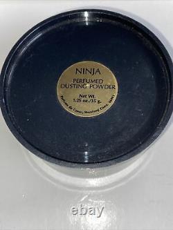 Ninja Perfumed Dusting Powder by Parfums De Coeur 1.25oz NEW VINTAGE RARE NO BOX