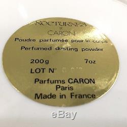 Nocturnes De Caron Perfumed Dusting Powder 200g
