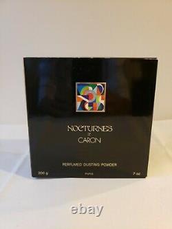 Nocturnes de Caron perfumed dusting powder 200g in a box