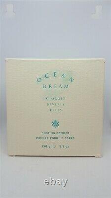 Ocean Dream Giorgio Beverly Hills Perfumed Dusting Powder 5.3 Original Formula