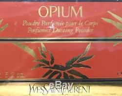 Opium By Yves Saint Laurent Perfumed Dusting Body Powder 5.2 oz SEALED Vintage