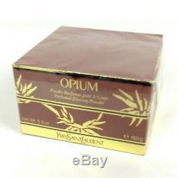 Opium By Yves Saint Laurent Perfumed Dusting Powder 5.2 oz New Sealed