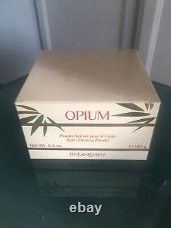 Opium By Yves Saint Laurent Perfumed Dusting Powder 5.2 oz New Sealed NOS RARE