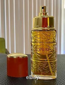 Original Formula Yves Saint Laurent Opium Perfume Dusting Powder & Soap Lot