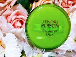 POISON TENDRE DIOR PERFUMED DUSTING POWDER, 4.2oz. 120gr