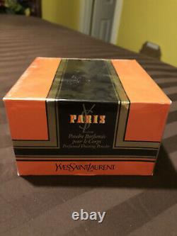 Paris by Yves Saint Laurent YSL Perfumed Dusting Powder 5.2oz
