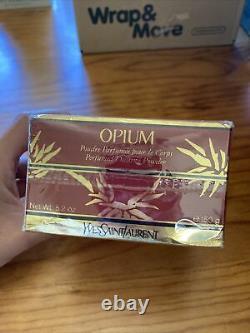 RARE Opium By Yvette Saint Laurent Perfumed Dusting Powder 150g SEALED