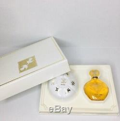 RARE! Unused Vintage Nina Ricci LAir du Temps Dusting Powder Perfume Gift Set