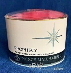 RARE Vintage1965 Prince Matchabelli Prophecy Perfume Dusting Powder 8 oz SEALED