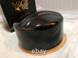 RARE Vtg Lancome Magie Noire Perfumed DUSTING POWDER 6 oz. IN BOX