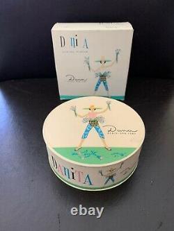 Rare Andy Warhol Designed Dana Danita Perfume Dusting Powder 4 1/4 Oz Boxed