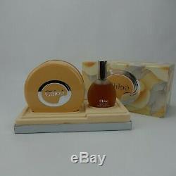 Rare Chloe Gift Set 1.7oz. Chloe Eau De Toilette & 3oz. Perfumed Dusting Powder