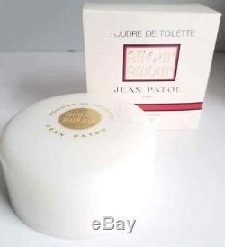 Rare Jean Patou AMOUR AMOUR 4 oz Perfumed Dusting Bath Powder Parfum FreeUShip
