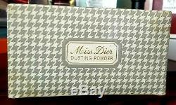 Rare Miss Dior by Christian Dior Perfume Dusting Powder 8 oz New Sealed Box
