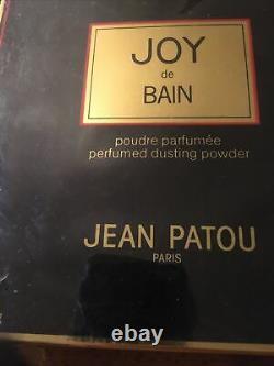 Rare New Joy De Bain Jean Patou Paris Dusting Powder Perfumed 7 Oz 200g vintage