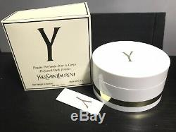 Rare Sealed Y Perfumed Dusting Powder Yves Saint Laurent YSL 6 oz