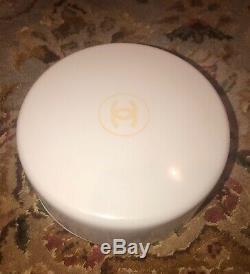 SANITIZED Vintage CHANEL NO 5 Perfumed Dusting BATH POWDER 8 oz Nearly Full