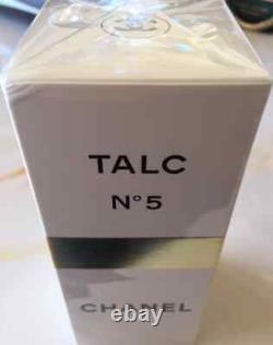 SEALED BEYOND RARE HUGE100g CHANEL No5 VINTAGE PERFUM TALCUM TALC DUSTING POWDER