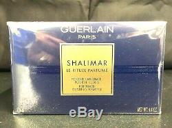SHALIMAR Dusting Body Bath Powder 4.4 oz. Guerlain Women's Fragrance New Sealed