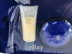 SHALIMAR GUERLAIN Paris 4.4 FL oz / 125 G Perfumed Dusting Powder & Sensual Gel