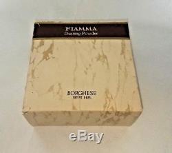 Sealed Vintage Borghese FIAMMA Dusting Powder 5oz RARE ca. 1965