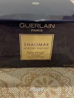 Shalimar Dusting Powder By Guerlain 4.4 Oz NWB Sealed