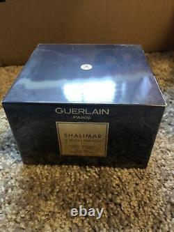 Shalimar Guerlain Perfume Dusting Powder 4.4 Oz NWB Sealed