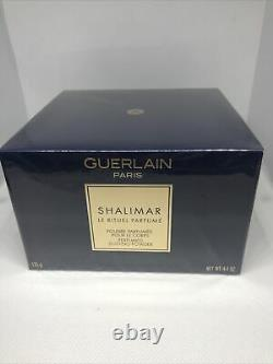 Shalimar by Guerlain Perfumed Dusting Powder 4.4 oz for Women New Boxed